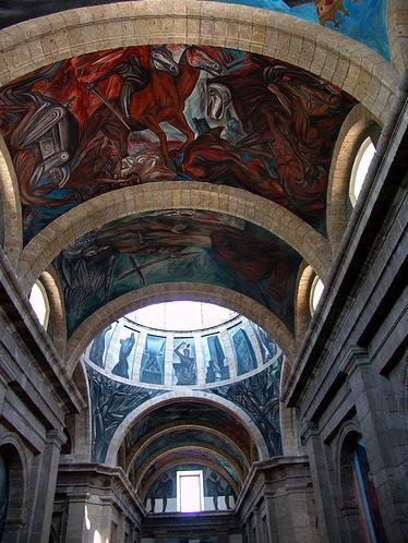 Painter jose clemente orozco paintings and murals for El mural guadalajara