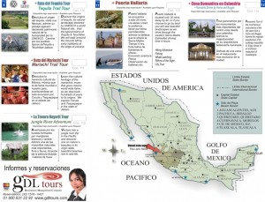 Mexico map and Tips