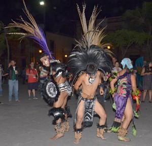 Mexican prehispanic dance